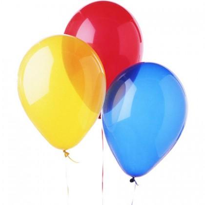 Воздушные шарики цветные